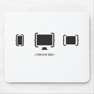 Mousepad O tapete do rato dos dispositivos