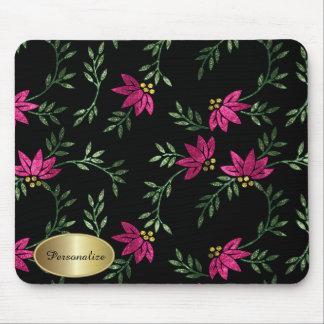 Mousepad O Victorian moderno | floral personaliza