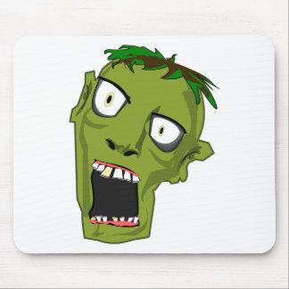 Mousepad O zombi o Dia das Bruxas inoperante assustador