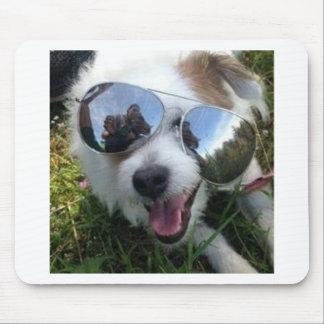 Mousepad Óculos de sol no FUTURO BRILHANTE do cão para MIM