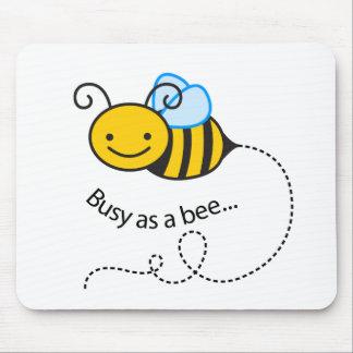 Mousepad Ocupado como uma abelha