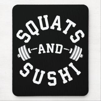 Mousepad Ocupas e sushi - carburadores e dia do pé - Gym