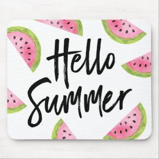 Mousepad Olá! melancia do verão