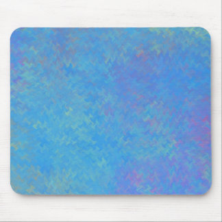 Mousepad Olhar bonito do papel marmoreado do azul