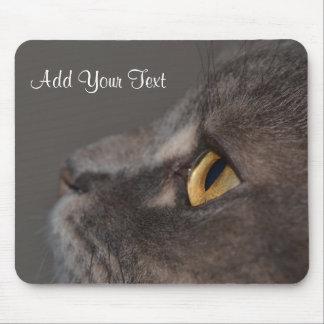 Mousepad Olho-Macro do gato por Shirley Taylor