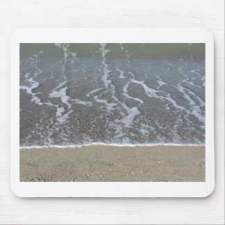 Mousepad Onda do mar na praia da areia