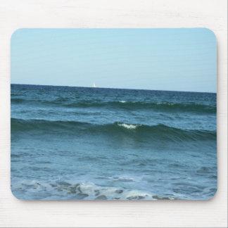 Mousepad Ondas de oceano do rolamento