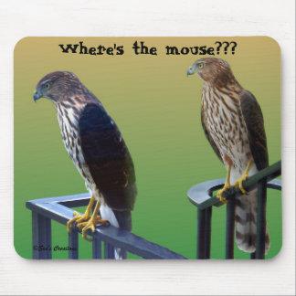 "Mousepad ""Onde é o rato???"" Falcões"