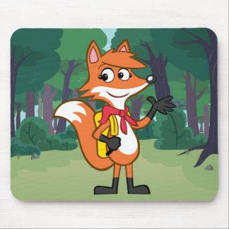 Mousepad Ondulação do Fox do rick | Scarlett da guarda