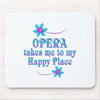 Mousepad Ópera meu lugar feliz