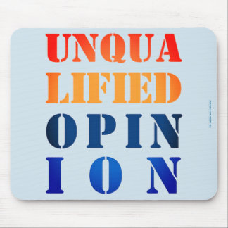 "Mousepad ""Opinião incompetente """
