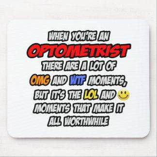 Mousepad Optometrista. OMG WTF LOL
