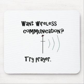 Mousepad Oração sem fio de uma comunicação