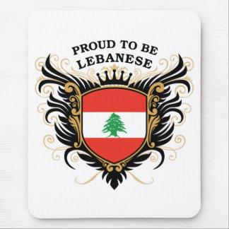Mousepad Orgulhoso ser libanês