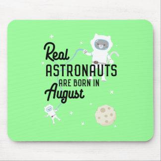 Mousepad Os astronautas são em agosto Ztw1w nascidos