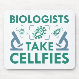 Mousepad Os biólogos tomam Cellfies