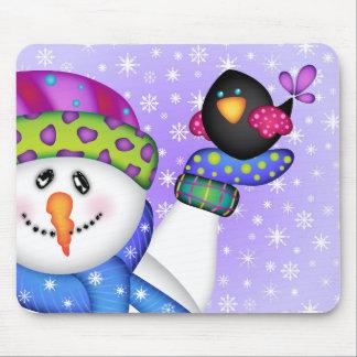 Mousepad Os bonecos de neve brilhantes DEIXARAM-NO NEVAR!