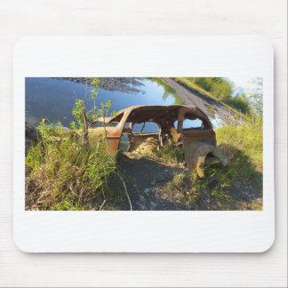 Mousepad Os carros velhos de Eklutna Tailrace
