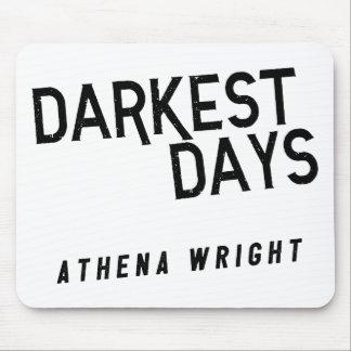 Mousepad Os dias os mais escuros pelo branco de Athena