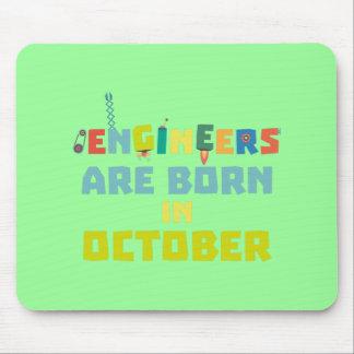 Mousepad Os engenheiros são em outubro Z3zoj nascidos