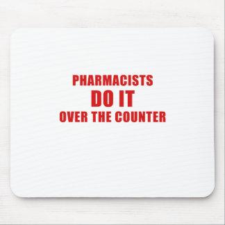 Mousepad Os farmacêuticos fazem-no sobre o contador
