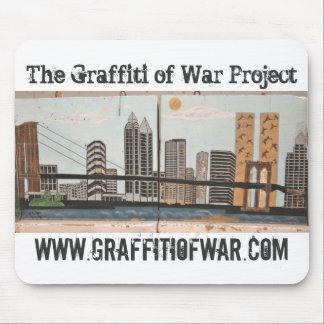 Mousepad Os grafites do projeto da guerra: Série 9/11 de