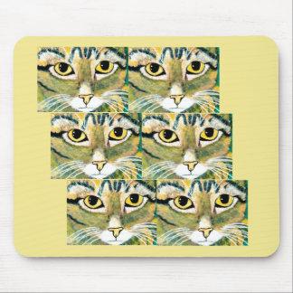 Mousepad Os olhos de gatos do ~The têm-no ~