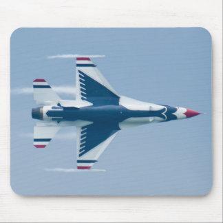 Mousepad Os Thunderbirds do U.S.A.F. conduzem a almofada do