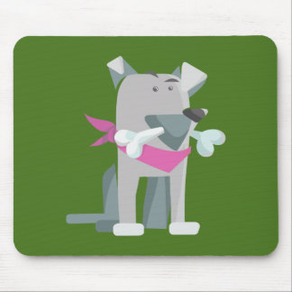 Mousepad Osso de cão de Hund Knochen