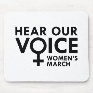 Mousepad Ouça nossa voz