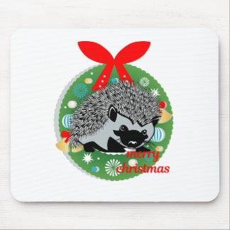 Mousepad ouriço do Feliz Natal