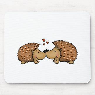Mousepad Ouriços no amor