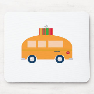 Mousepad Ouro do ônibus do design