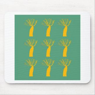 Mousepad Ouro dos Baobabs no verde do eco