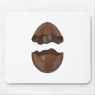 Mousepad Ovo de chocolate quebrado