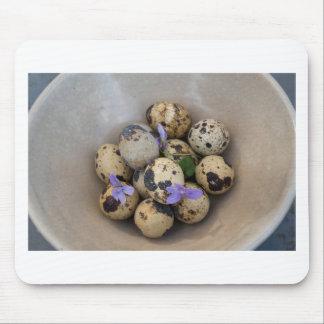 Mousepad Ovos de codorniz & flores 7533