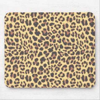 Mousepad Padrões da pele animal do impressão do leopardo