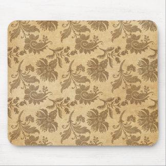 Mousepad Padrões de flor abstratos do outono/queda