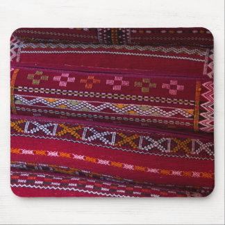 Mousepad Padrões do travesseiro de matéria têxtil