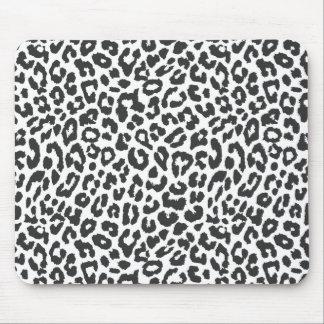 Mousepad Padrões pretos & brancos da pele animal do