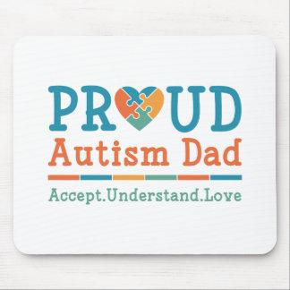 Mousepad Pai orgulhoso do autismo