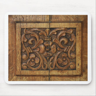 Mousepad painel de madeira