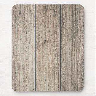 Mousepad País de madeira resistido rústico do celeiro da