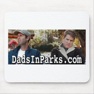 Mousepad Pais nos parques - Jamie & Jeff