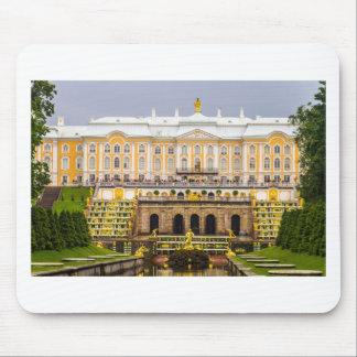 Mousepad Palácio de Peterhof e jardins St Petersburg Rússia