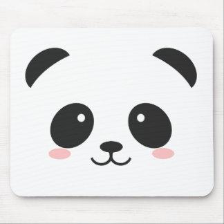 Mousepad Panda bonito do smiley