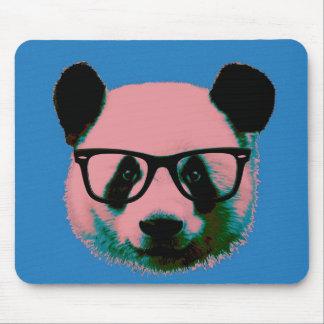 Mousepad Panda com vidros no azul