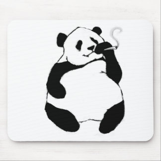 Mousepad Panda do fumador