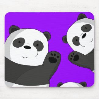 Mousepad Pandas bonitos