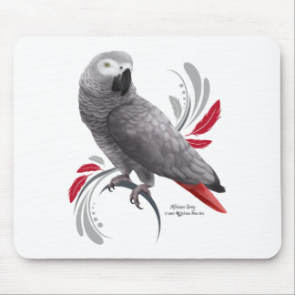 Mousepad Papagaio do cinza africano